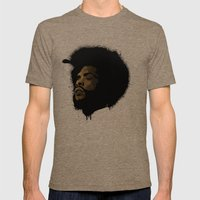 Questlove 2.0 Mens Fitted Tee Tri-Coffee SMALL