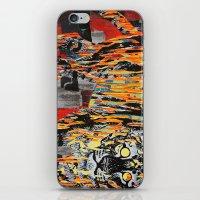 Tiger At Night iPhone & iPod Skin