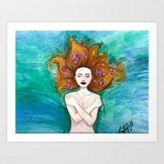 Element 1: Water Art Print