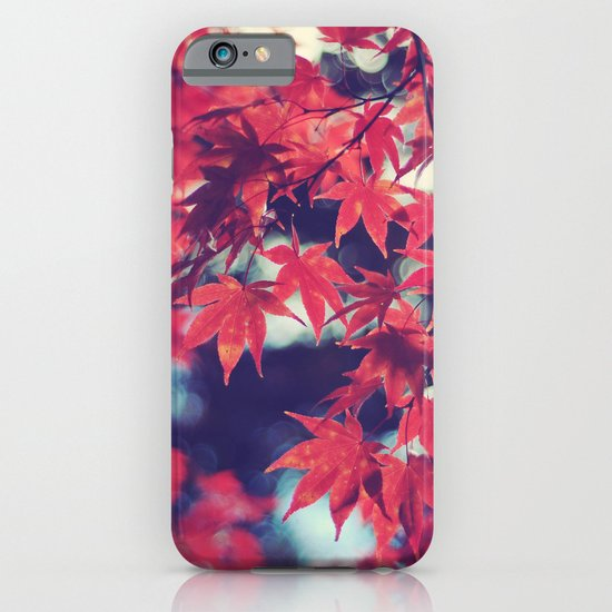 Still autumn in my heart iPhone & iPod Case