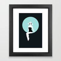 Girl #5 Framed Art Print