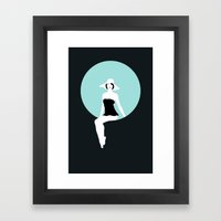 Girl #5 Framed Art Print