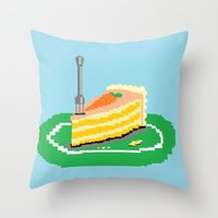 Carrot Cake Throw Pillow