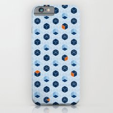 Blue Cubes iPhone 6s Slim Case