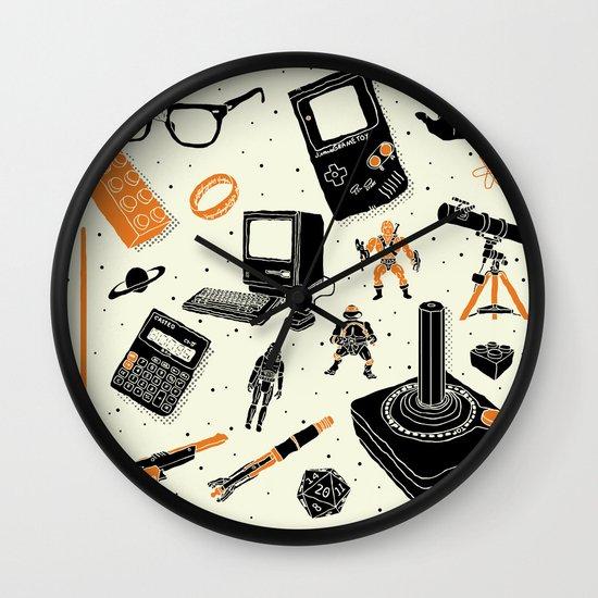 Nerd Life Wall Clock