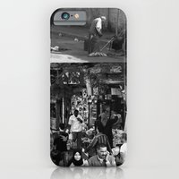 Street collage iPhone 6 Slim Case