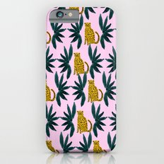 Cheetah and Leaves Slim Case iPhone 6s