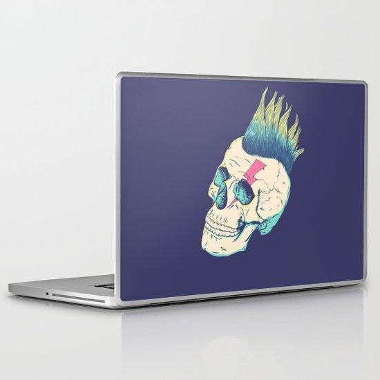 Skull Punk Laptop & iPad Skin