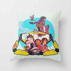 caravan fam Throw Pillow