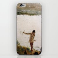 Lake and Girl iPhone & iPod Skin