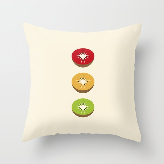 Go Kiwi Throw Pillow