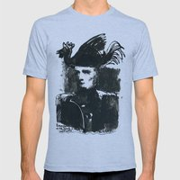 napoleon Mens Fitted Tee Athletic Blue SMALL