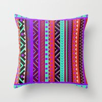 EYANOSA Throw Pillow