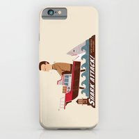iPhone & iPod Case featuring Shark Attack by Teo Zirinis