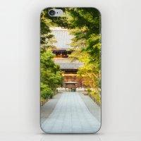 Nanzenji Temple in Kyoto, Japan iPhone & iPod Skin