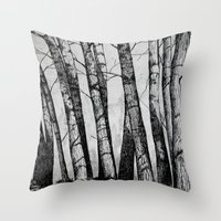 The Row  Throw Pillow