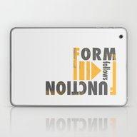Form Follows Function Laptop & iPad Skin