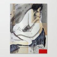 Love Song Canvas Print