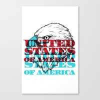 My United States Canvas Print