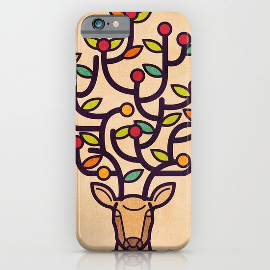 One Happy Deer iPhone & iPod Case