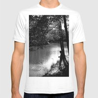 Wish Upon A Stone Mens Fitted Tee White SMALL
