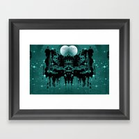 My Dream World Framed Art Print