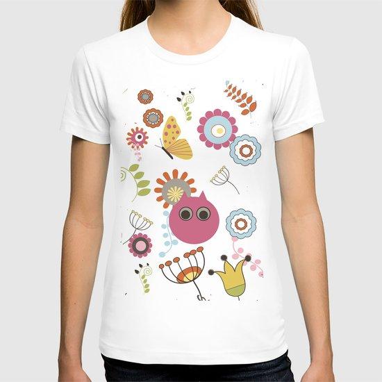 Owl in Pandora T-shirt