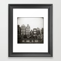 { teeny houses } Framed Art Print