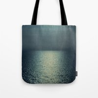 sea - sunset blue Tote Bag