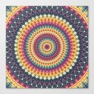Mandala 149 Canvas Print