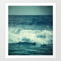 The Sea II. (Sea Monster) Art Print
