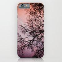 Purple & Fire iPhone 6 Slim Case