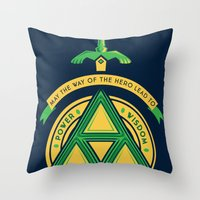 May The Way Of The Hero … Throw Pillow