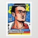 Post-Punk Comix: Moz Art Print