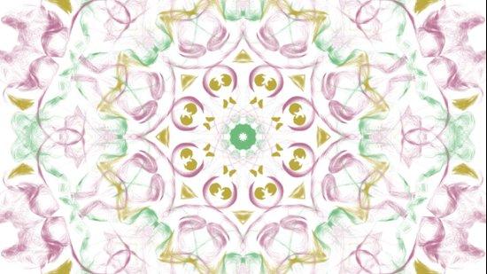 Kaleidoscope Tye Dye  Art Print
