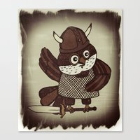 The Wisest Viking Canvas Print