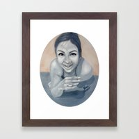 Perfect Rain Framed Art Print