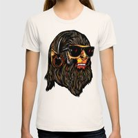 Teen Wolf Womens Fitted Tee Natural SMALL