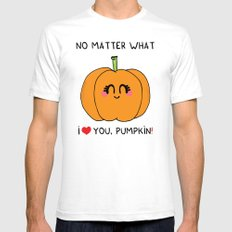 I love you pumpkin Mens Fitted Tee White SMALL