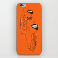 General Lee iPhone & iPod Skin