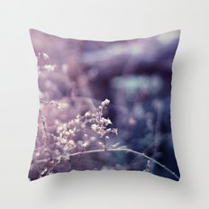 Blustered Throw Pillow