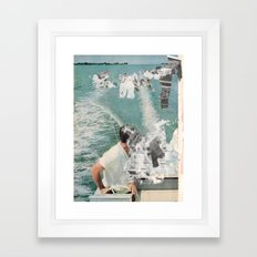 Daze (sea) Framed Art Print