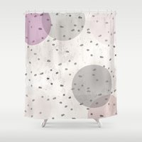 Lightdots Shower Curtain
