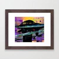 Object Down Framed Art Print