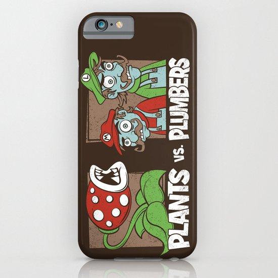 Plants Vs Plumbers  iPhone & iPod Case