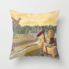 don chisciotte Throw Pillow