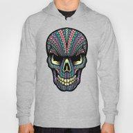 Aztec Skull Hoody