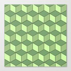 Lime cubes Canvas Print