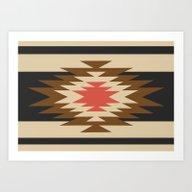 Aztec 1 Art Print