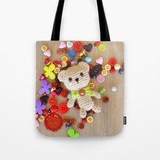 Baby Teddy Tote Bag